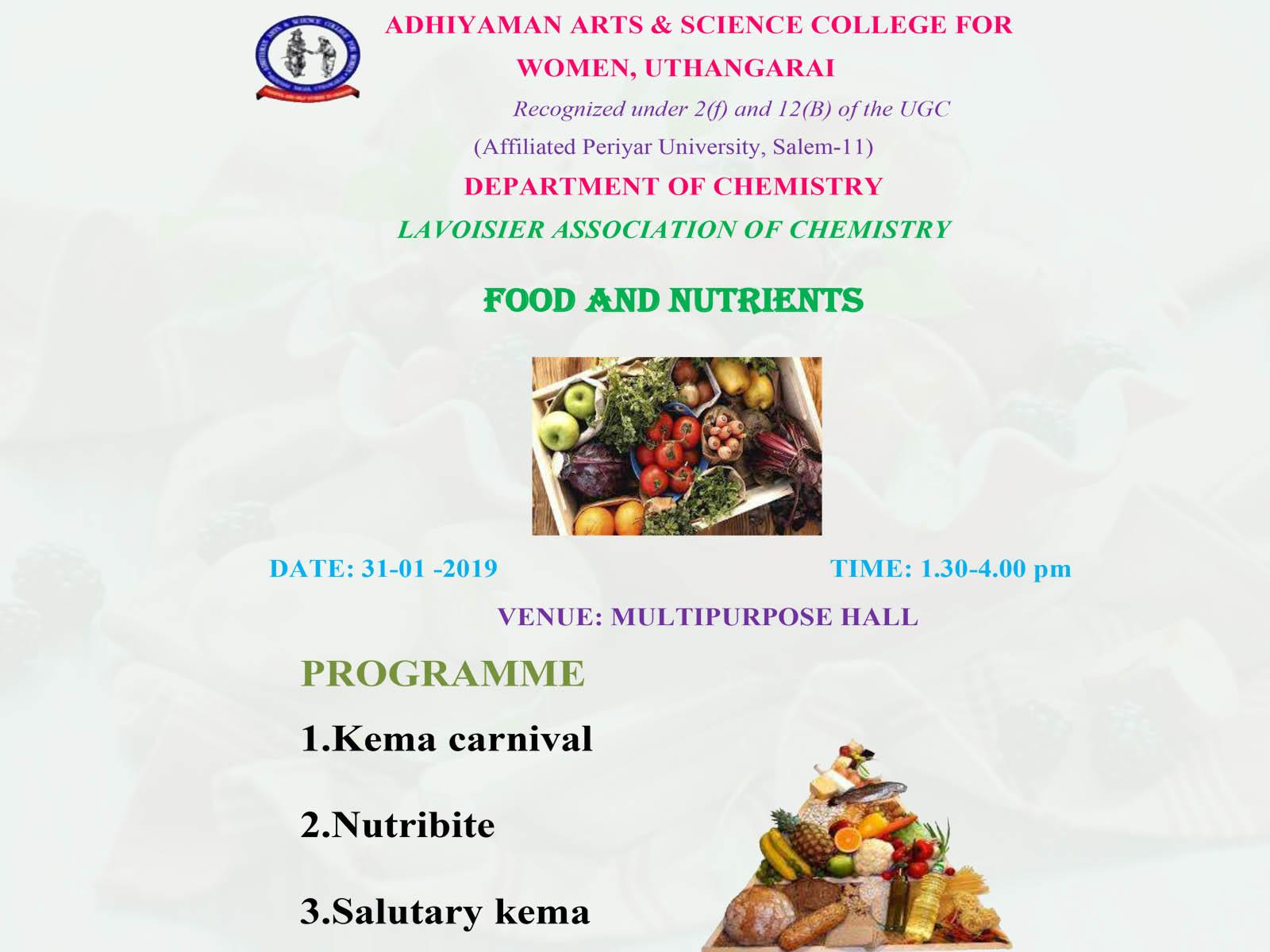 Food & Nutrients